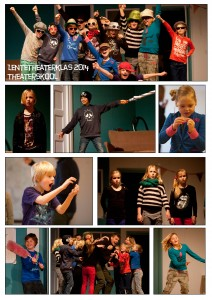 Lente theaterklas 2014 collage